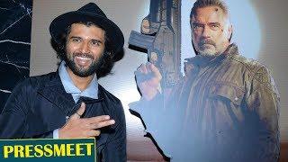 TERMINATOR DARK FATE Movie Telugu trailer launch @ VIJAY DEVERAKONDA - TFPC