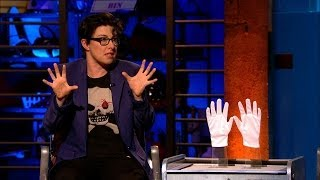 Sue Perkins declares her hatred of mime - Room 101: Series 3 Episode 8 - BBC One - BBC