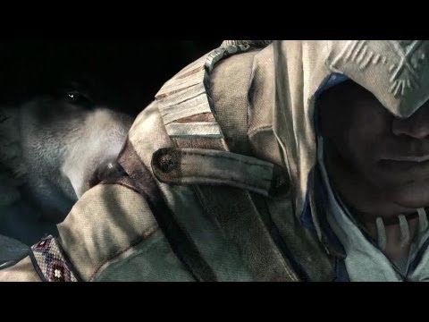 Redcoats, Bears, and Blood on the Snow - Assassin's Creed III Gameplay Trailer