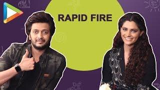 "Saiyami Kher: ""If I can DATE Ranbir Kapoor & secretly get some of his…"" | RAPID FIRE | Mauli - HUNGAMA"