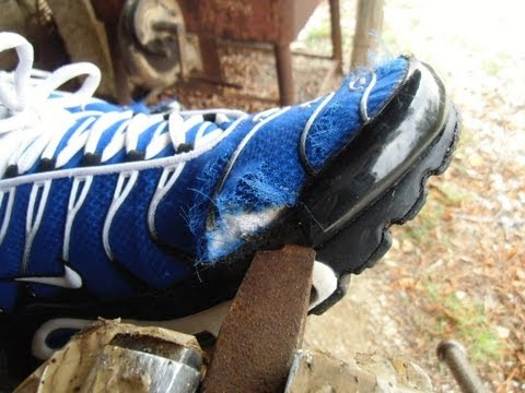 Sneaker Abuse Febuary 2013 - burning, messy and destroyed sneakers