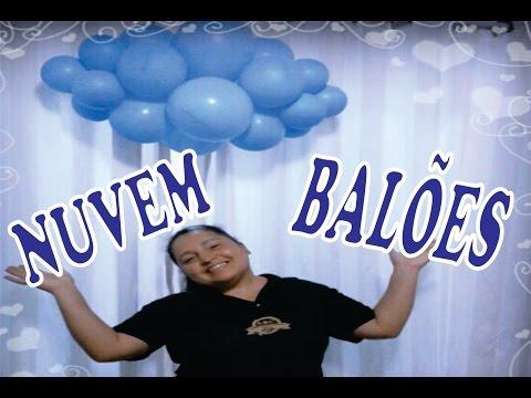 Nuvem de Balões