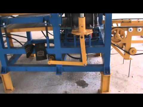 Maquina de bloco hidráulica - MFH-643