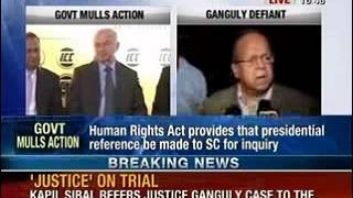 NewsX: Draft presidential reference explores ways to remove Ganguly as WBHRC chief - NEWSXLIVE