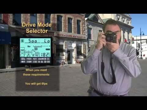 Nikon D7000 Shooting modes Tutorial