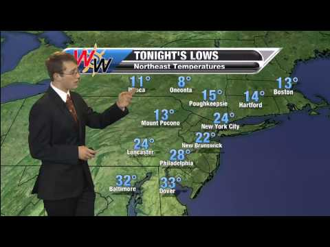 January 25th Sunday Evening Forecast