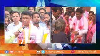 TRS Bigala Ganesh Gupta Face To Face Over Election Campaign In Nizamabad Urban Constituency | iNews - INEWS