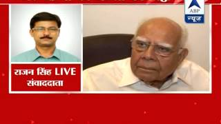 Black money probe l Release all names, Ram Jethmalani asks Jaitley - ABPNEWSTV