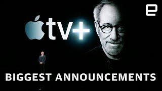 Apple TV+ and Apple News+ announcement in under 15 minutes - ENGADGET