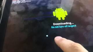 Как прошить любой планшет или телефон Samsung через odin на примере gt-n8000 note 10.1