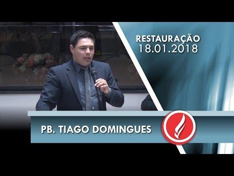 Noite da Restauração - Pb. Tiago Domingues - 18 01 2018