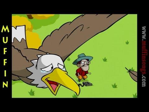 Muffin Stories – The Grateful Eagle Çocuklar için İngilizce Masalları, Hikayeler ve Fabllar