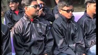 25,Nov 2014 - Indian sports minister wishes luck to blind cricket team ahead of World Cup - ANIINDIAFILE