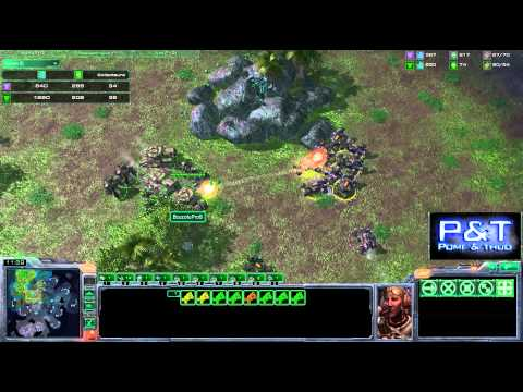 (HD316) TSLRain vs GGlastshadow -TvT- Starcraft 2 Replay [FR]