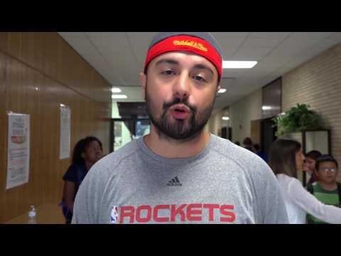 Anti-Bullying Presentation - Mike Rosas Visits Waller Jr High
