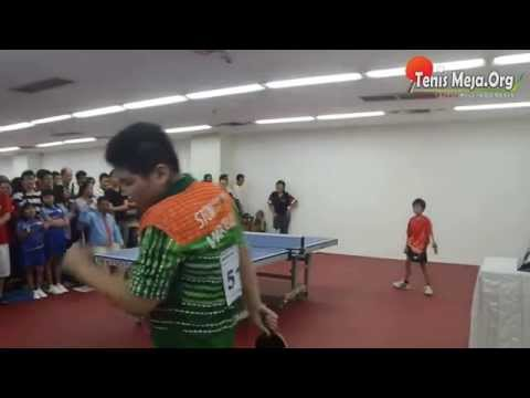 Video Tenis Meja - Andre BTP vs Marcello Li - Walikota Yogya Cup 2014