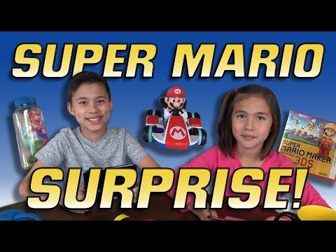 SUPER MARIO SURPRISE BOX UNBOXING!!!