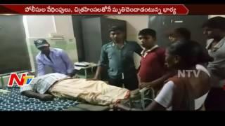 నెల్లూరు జిల్లా కోవూరు పోలీస్ స్టేషన్ లో లాకప్ డెత్ || NTV - NTVTELUGUHD