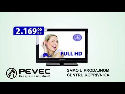 Samo u prodajnom centru Pevec Koprivnica. akcija vrijedi od 18 do 30 11 2010.