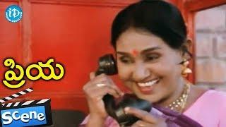 Priya Movie Scenes - Radhika Plans To Meet Chandra Mohan || Chiranjeevi - IDREAMMOVIES