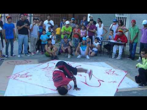 TETRA vs GHOST   Batalla de Break Dance Guarenas 2012
