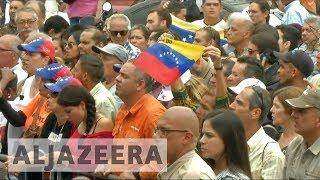 Venezuelans protest Maduro's bid to amend constitution - ALJAZEERAENGLISH