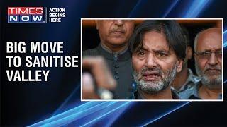 Jammu: Kashmiri separatist leader Yasin Malik detained by police ahead of Supreme Court hearing - TIMESNOWONLINE