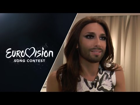 Conchita Wurst: I would love to host the greenroom