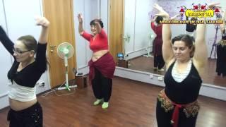 ТанцКвартал, Урок восточного танца. Сарима.