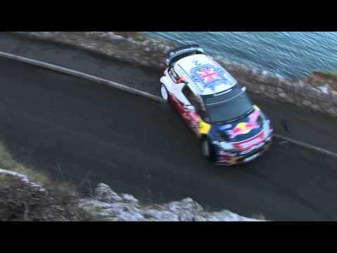 Sebastien Ogier Crash Great Orme SS1 Wales Rally Gb 2011
