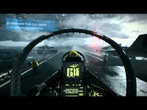 Battlefield 3 ultra high 8800GTX plane mission