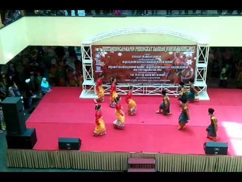 JOHAN Kategori Sekolah Rendah Pertandingan Zapin Peringkat Daerah Johor Bahru 2012