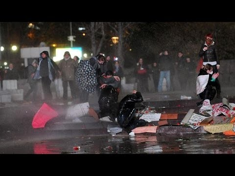 Turkey: anger after boy dies following street battles