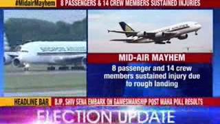 Close shave for more than 400 passengers of Singapore Airlines - NEWSXLIVE