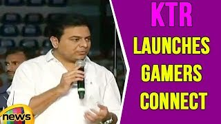Minister KTR Launches Gamers Connect In Hyderabad | Mango News - MANGONEWS