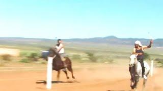 Carreras de caballos en Francisco I. Madero (Fresnillo, Zacatecas)