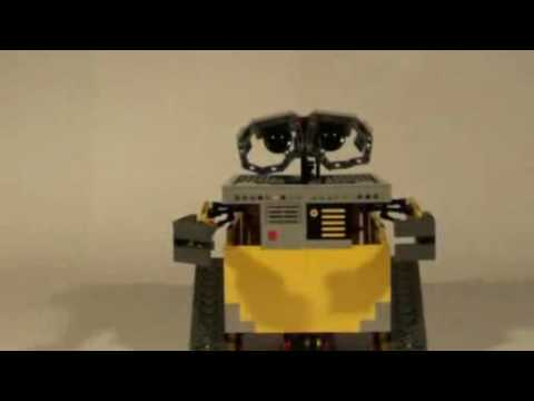 Wall-E con piezas de Lego