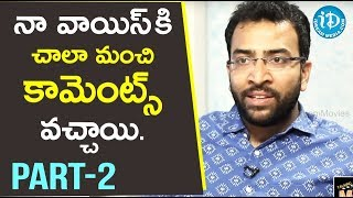 Singer Gowtham Bharadwaj Exclusive Interview Part #2 || Talking Movies With iDream - IDREAMMOVIES