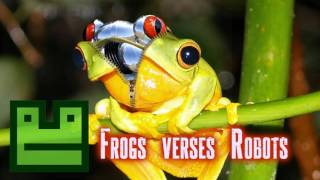 Royalty FreeTechno:Frogs verses Robots