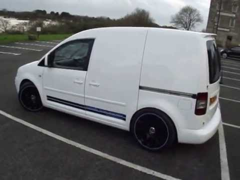 vw caddy Ibis white www.totallyt4.co.uk