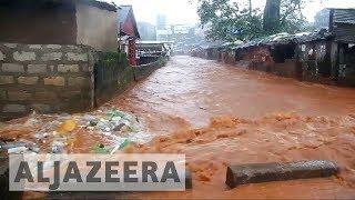 At least 600 people missing after Sierra Leone floods - ALJAZEERAENGLISH