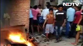 बिहार : शख्स का शव मिलने के बाद तनाव, शक में महिला के कपड़े उतरवाकर पिटाई - NDTVINDIA