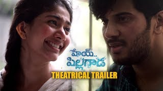Sai Pallavi's HEY PILLAGADA new theatrical trailer || Dulquer Salmaan || Gopi Sundar || Kali - IGTELUGU