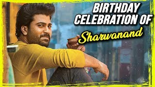 Hero Sharwanand Birthday Celebrations Video At Padi Padi Leche Manasu Movie Set - RAJSHRITELUGU