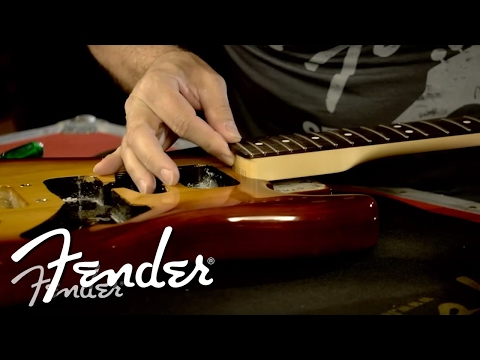 How to Attach a Fender Guitar Neck to a Body