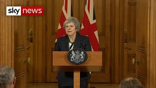 In full: Theresa May stands defiant on Brexit agreement - SKYNEWS