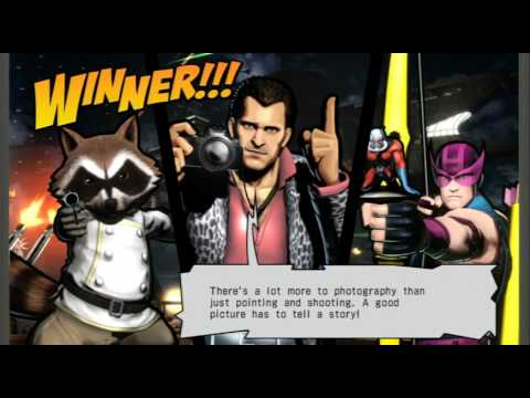 Ultimate Marvel vs. Capcom 3 - Frank West/Rocket Raccoon/Hawkeye Playthrough