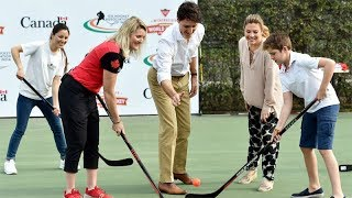 Hockey, Canadian High Commission, Justin Trudeau, Canadian Prime Minister, Narendra Modi, New Delhi - TIMESOFINDIACHANNEL