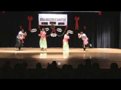 KACT 2013 Christmas - Folk Dance by Mallu Dons