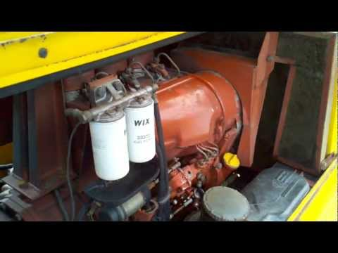 Atlas Copco XAS-85 towable air compressor Deutz diesel